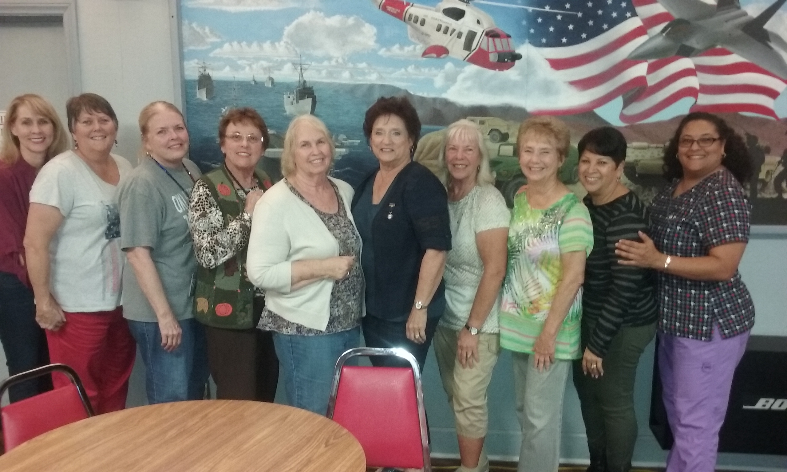 The ladies of post 149 auxiliary