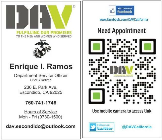 DAV Business Card