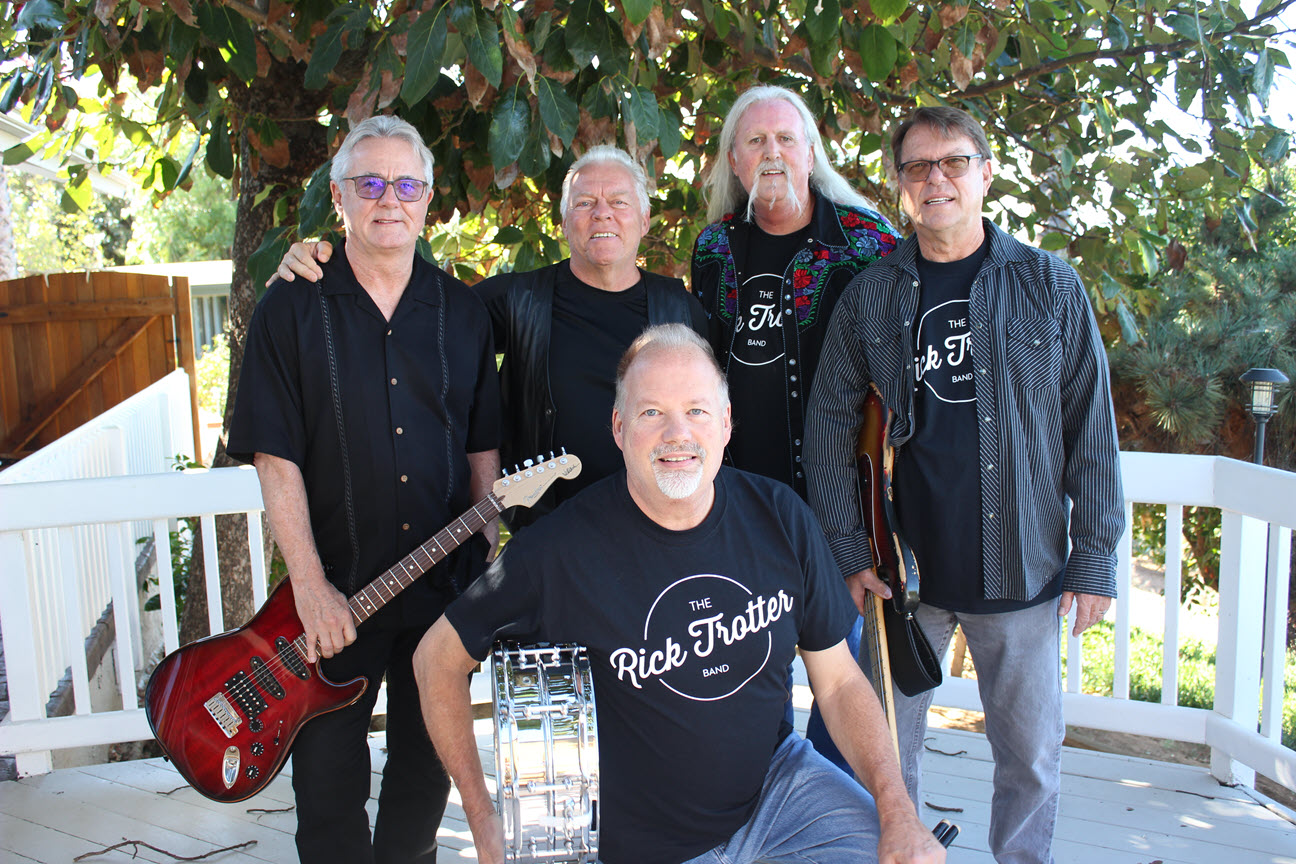 """""""The Rick Trotter Band"""" Classic Tunes from the 60's and 70's"""