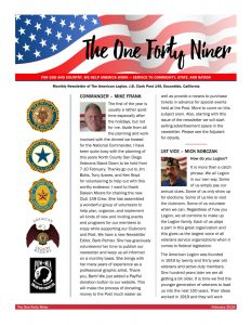 Post 149 Newsletter