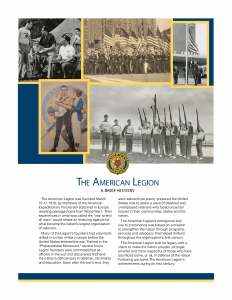 The American Legion - A Brief History