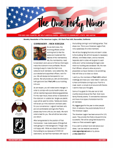 Page 1 July 2020 Newsletter