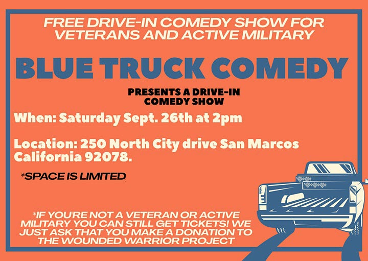 Blue Truck Comedy